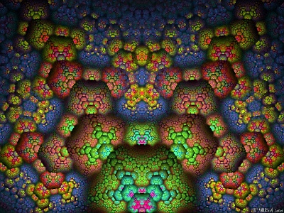 see 'The fractal structure of matter' at deviantART