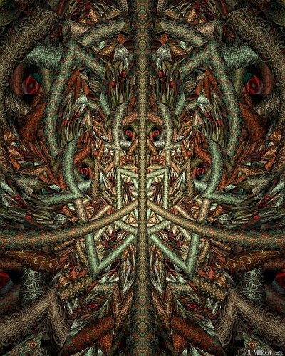 see larger version of 'Manic shamanic' at UltraGnosis