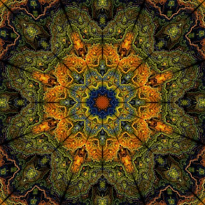 see larger version of 'Mosque ceiling #1' at UltraGnosis