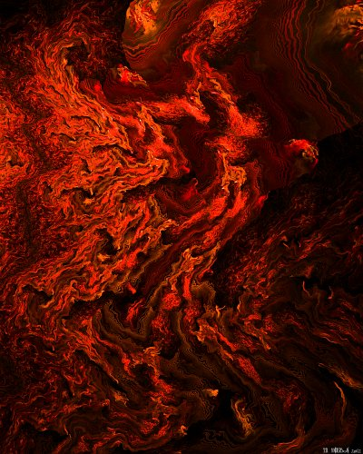 see 'River of fire' at deviantART