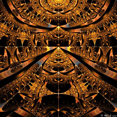 see 'Temple of the Sun' at deviantART