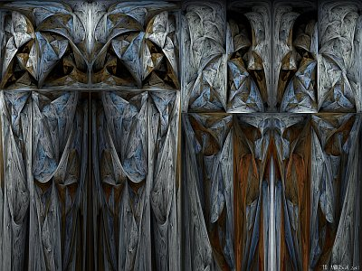 see 'The thing in the surplice cupboard' at deviantART