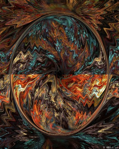 see larger version of 'The water on fire' at UltraGnosis