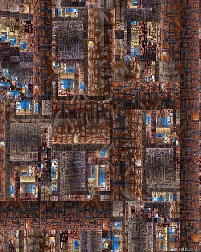 see larger version of 'Transdimensional circuitry' at UltraGnosis