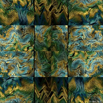 see 'Abstract triptych 2: The Gryphon' at deviantART
