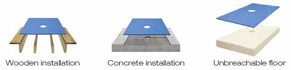 Tiling mansfield richmond tiling services tiler tiling for Concrete floor upstairs
